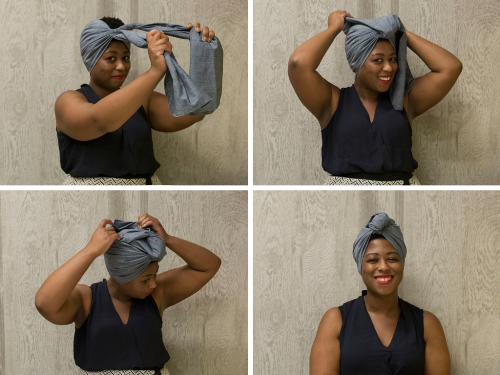 how to tie head wraps in a number of ways