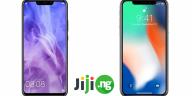 Huawei Nova 3i vs iPhone X review