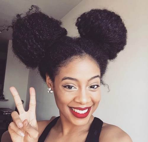 natural hairstyles for medium length hair braids
