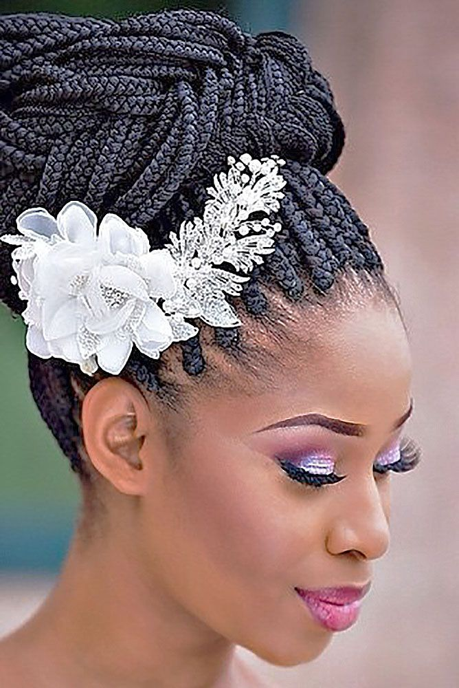 Bridal hairstyles with braids