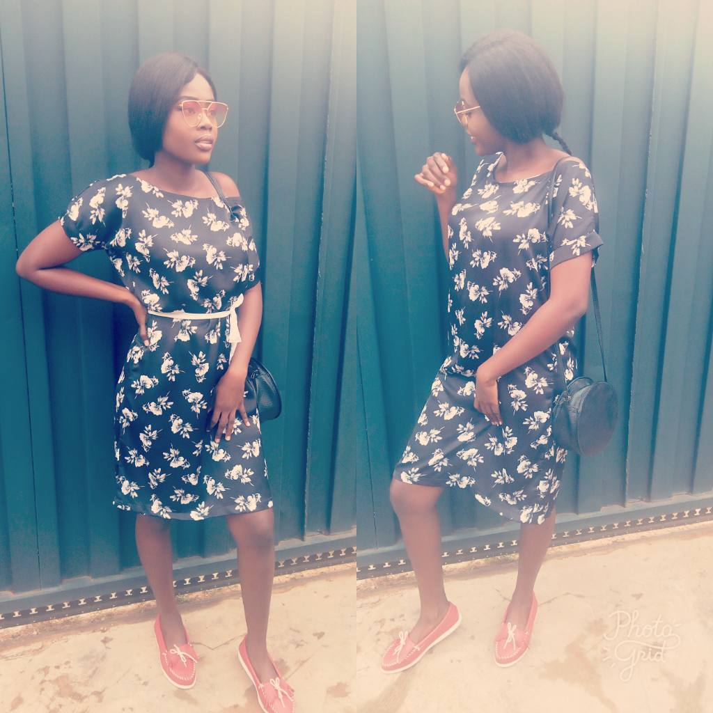 Chiffon short gown styles in Nigeria