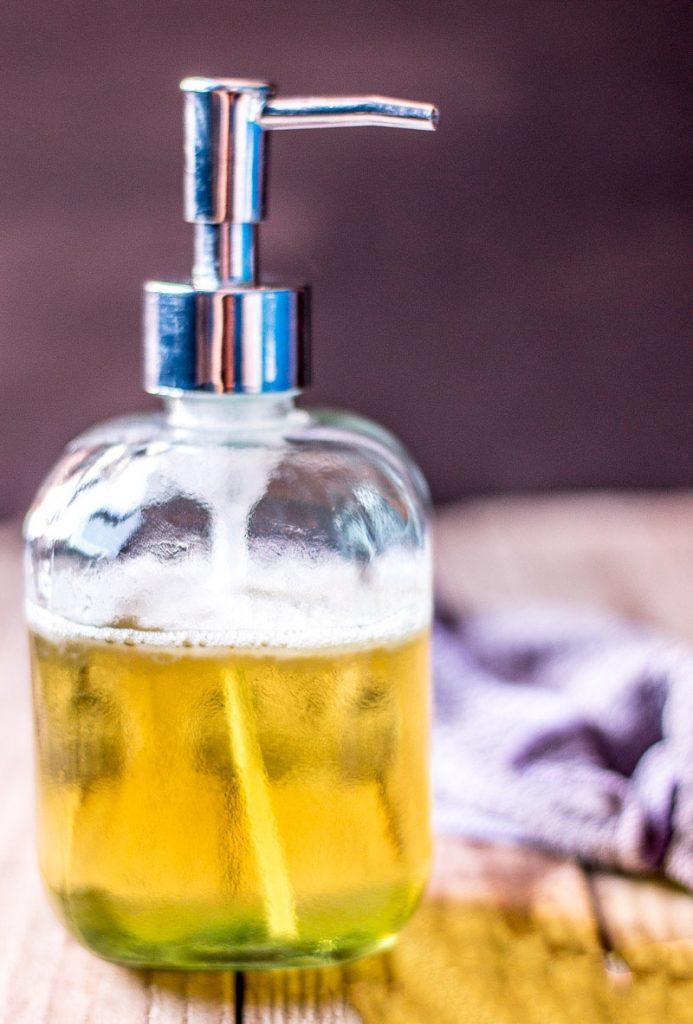 liquid soap recipe