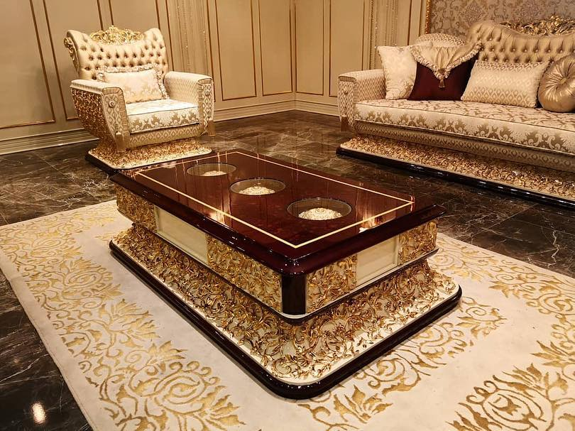 Living room furniture designs in Nigeria