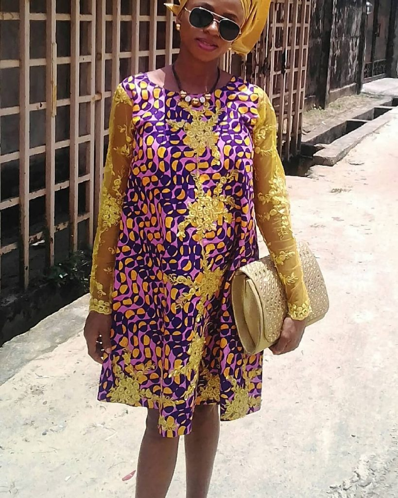 Nigerian traditional maternity dresses