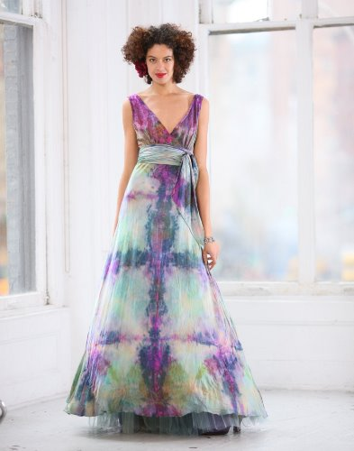 purple wedding dress meaning
