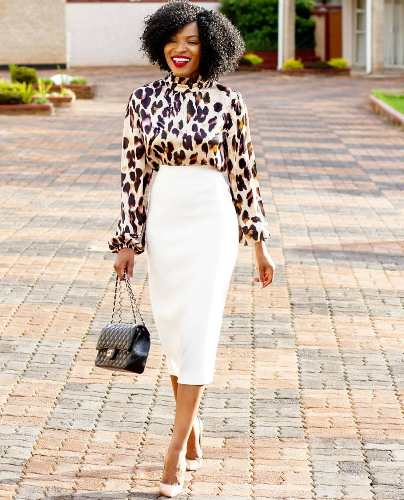 how to wear animal print top