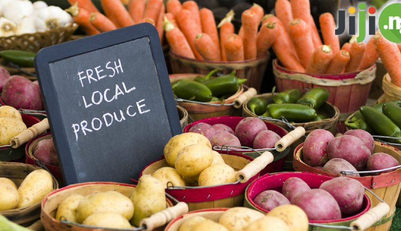 The benefits of eating local food