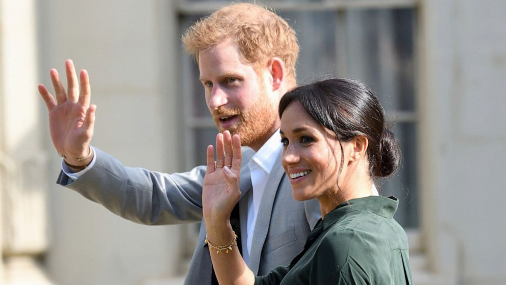 Meghan Markle gives birth to a baby