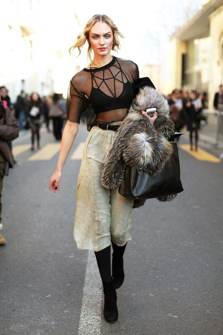 Stylish Ways To Wear Lingerie In Public
