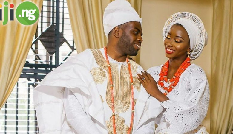 Yoruba Couple Traditional Wedding Attire Inspiration